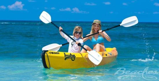 Beaches Ocho Rios Resort & Golf Club: Watersports at Beaches Boscobel Resort & Golf Club