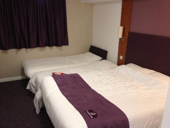 "Premier Inn London Angel Islington Hotel: This is a ""family room"""