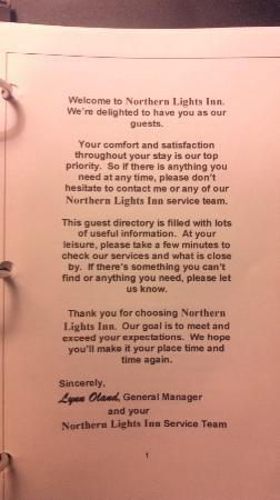 Northern Lights Inn: 100 %