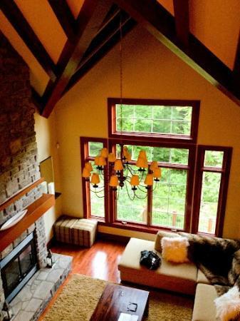 Tremblant Platinum: living room 