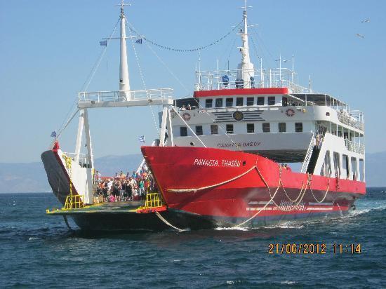 Villa Eden: the ferry