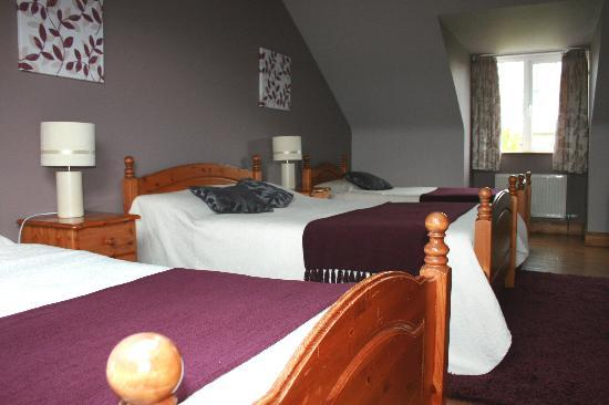 Peggy O'Neills B&B: Great value family room for 70 Euro!