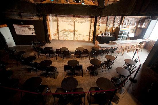 Mi's Westside Comedy Theater: The stage