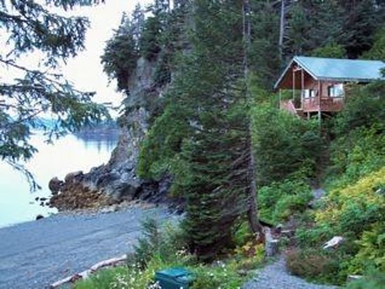 Otter Cove Resort: Our remote cabins