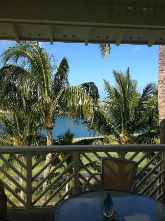 Fairway Villas: View from Lanai