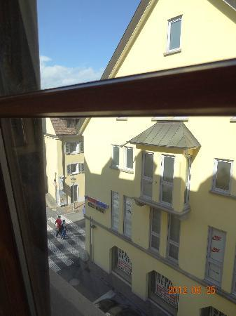 Stadthotel: view from 2nd fl room