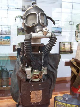Denton Firefighters Museum : An early mask