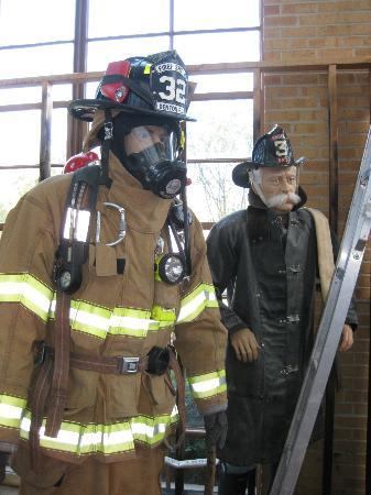 Denton Firefighters Museum : The evolution of firefighter uniforms