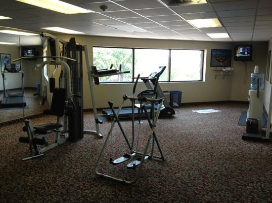 The Resort at Port Arrowhead: not impressive exercise room