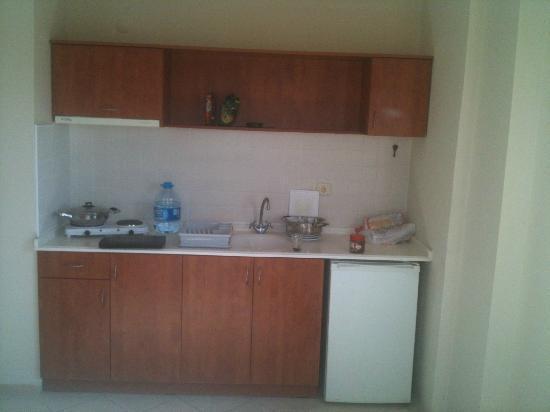 Ida Apart Hotel: Kitchen in the Room
