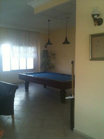 Ida Apart Hotel: Pool table