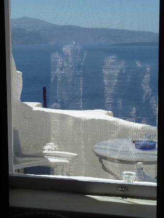 Residence Suites: vue depuis notre fenêtre donnant sur la terrasse