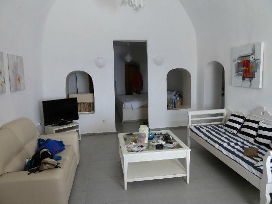 Residence Suites: notre suite troglodyte