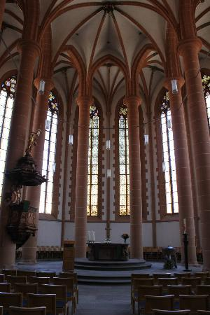 Church of the Holy Ghost (Heiliggeistkirche): Inside