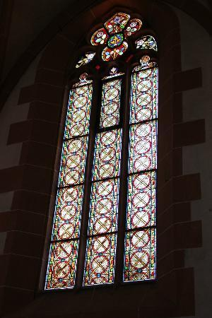 Church of the Holy Ghost (Heiliggeistkirche): stained glass