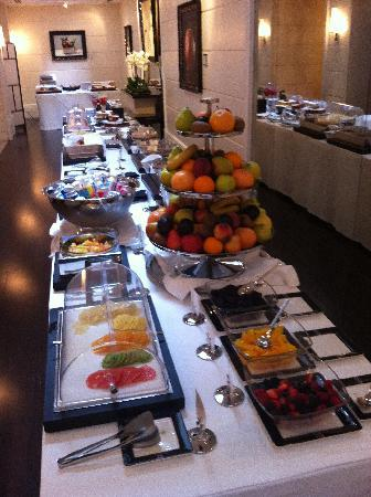 Grand Hotel Via Veneto: Oustanding relaxed breakfasts