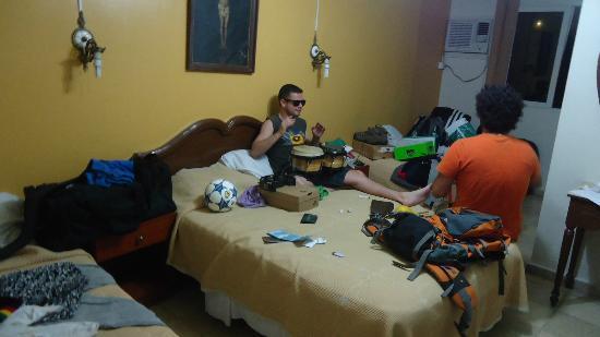 Hotel Veracruz: En la habitacion
