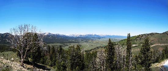 Sawtooth Wilderness Area: Galena Overlook