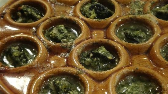 Du Mexique by Sonya Grimond: Escargot...so good we had to order another plate