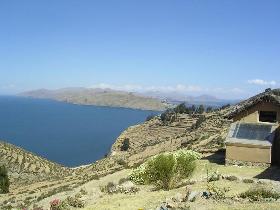 Ecolodge La Estancia: Views atop Isla del Sol
