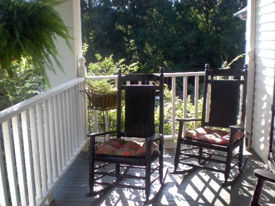 Andover Plantation: Charleston Suite's private porch