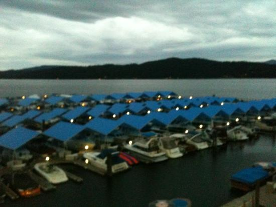 The Coeur d'Alene Resort: marina