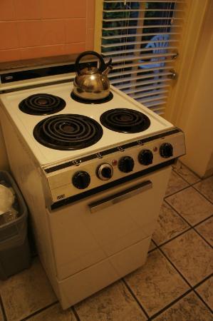 Alexander Palms Court: la cucina funziona...però è dell'ante guerra