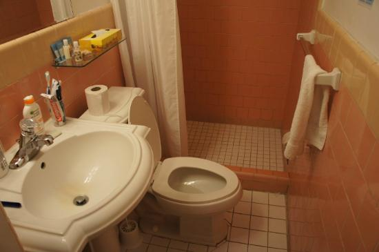 Alexander Palms Court: bagno: se più alti di 1,70m... gambe ben divaricate se no non si entra!!