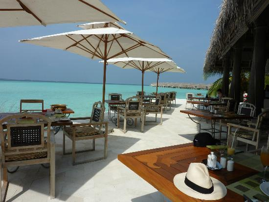Anantara Kihavah Maldives Villas : breakfast