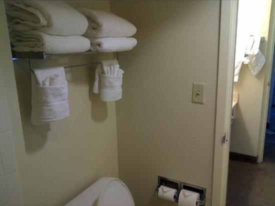 Holiday Inn & Suites Across from Universal Orlando: Towel rack.