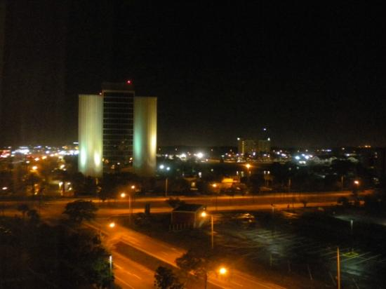 Holiday Inn & Suites Across from Universal Orlando: View from room; not much to look at.