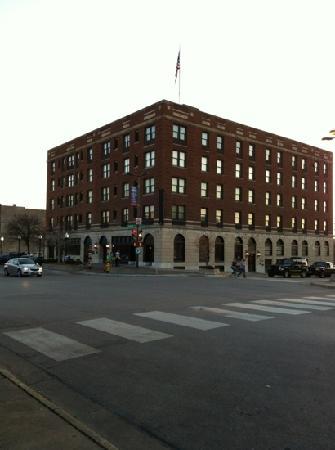 Eldridge Hotel: aanzicht hotel