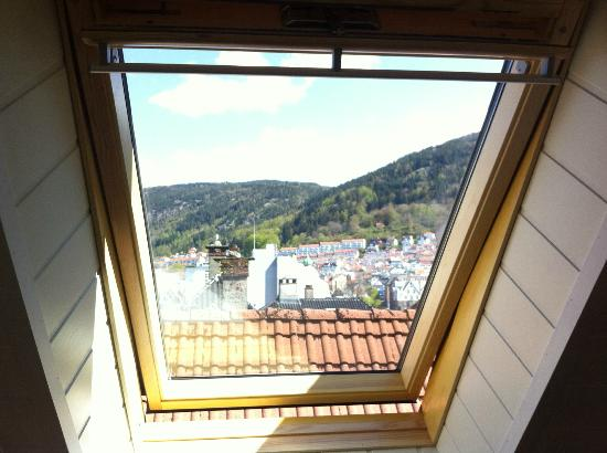 Bergen Apartments: View from the attic room
