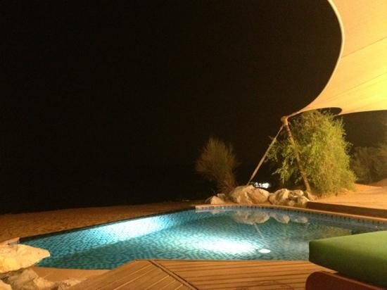 Al Maha, A Luxury Collection Desert Resort & Spa: at night