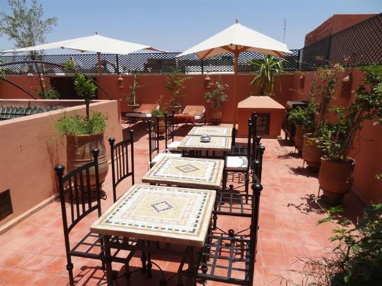 Riad Chafia: Roof Terrace