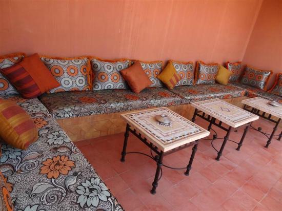 Riad Chafia: Roof Terrace