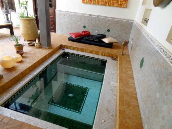 Riad Chafia: Plunge Pool