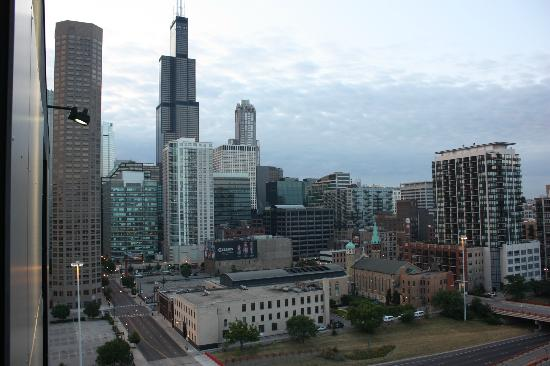 Crowne Plaza Chicago West Loop: My room's view