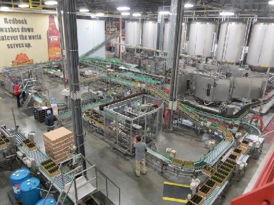 Red Hook Brewery: Factory floor
