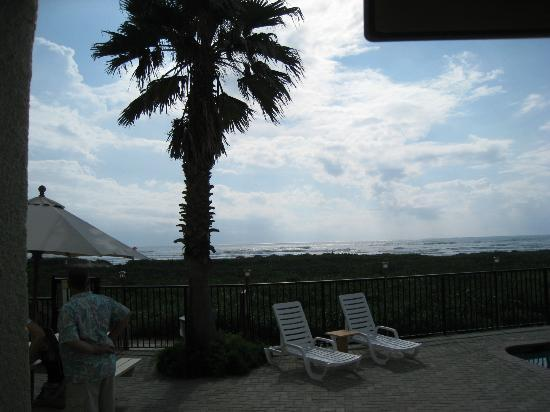 Cafe on the Beach at The Palms Resort : View from Cafe on the Beach