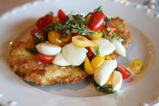 Cello's Restaurant: Our Signature Dish, Chicken Caprese