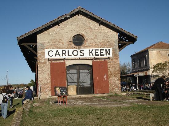 Carlos Keen, อาร์เจนตินา: Vieja estación