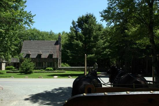 Carriages of Acadia: At the gatehouse