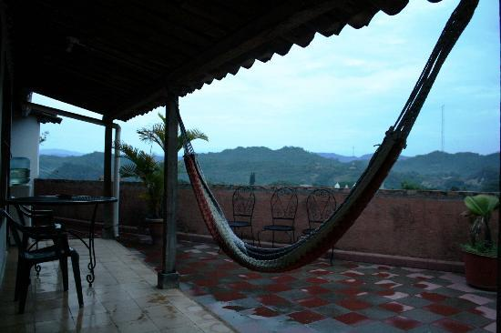 Hotel & Restaurant Guancascos: View from the room terrace