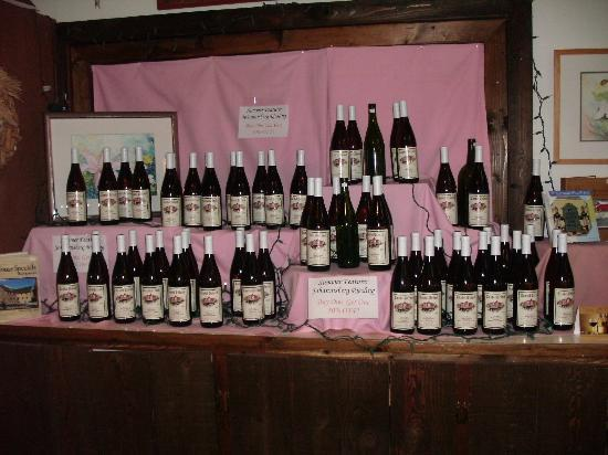Castel Grisch : Wine selection looks really inviting
