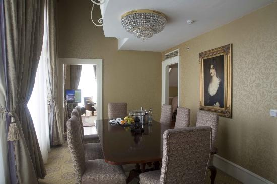 The Westin Dublin: College Suite Dining Room
