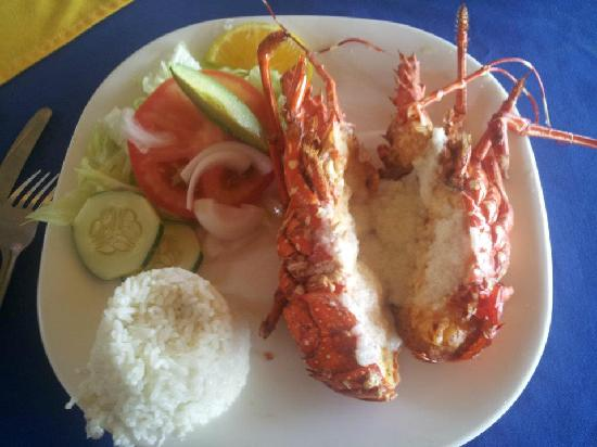 Mariscos Dona Concha : Lobster for meal