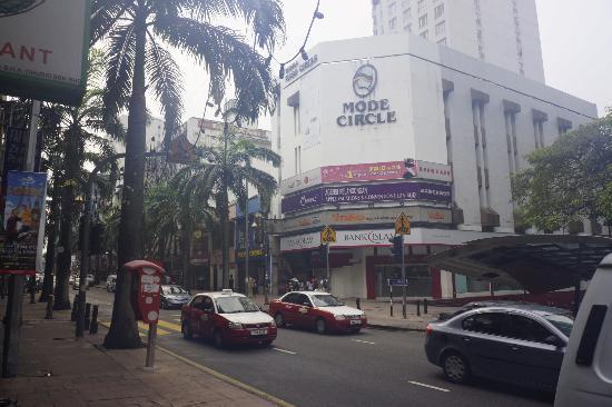 T-Hotel Kuala Lumpur: opposite the hotel