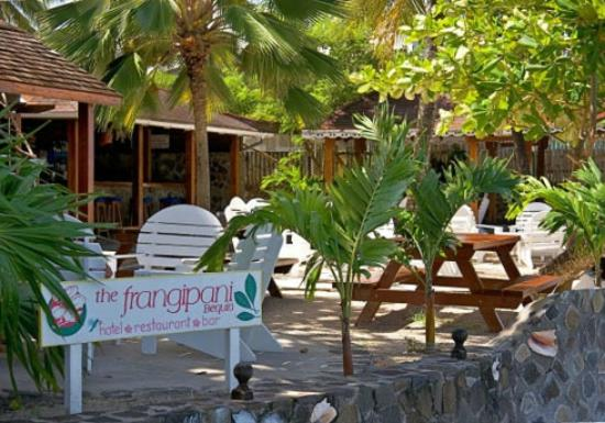 Belmont, Bequia : The Frangipani Hotel, Restaurant and Bar