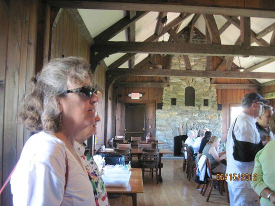 Bascom Lodge: The dining room